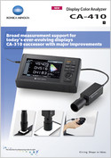 Display Colour Analyzer CA-410 Brochure