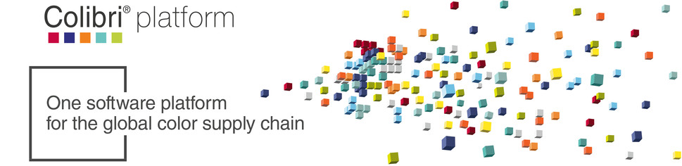 Colibri Header: One software platform for the global colour supply chain.