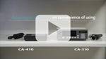 Display Colour Analyzer CA-410 video